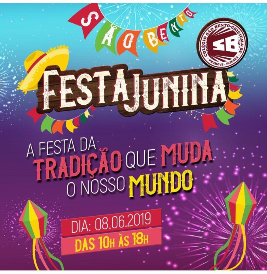 Cultura e diversão na Festa Junina São Bento