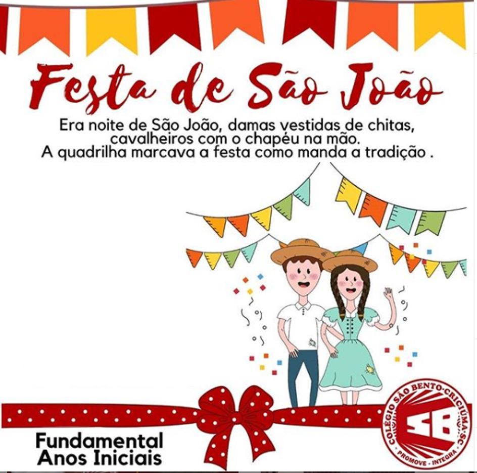 Festa Junina online