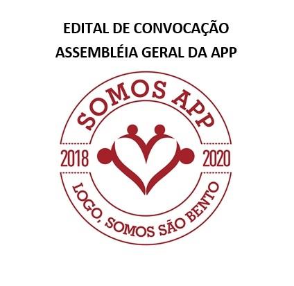 EDITAL DE CONVOCAÇÃO ASSEMBLÉIA GERAL DA APP