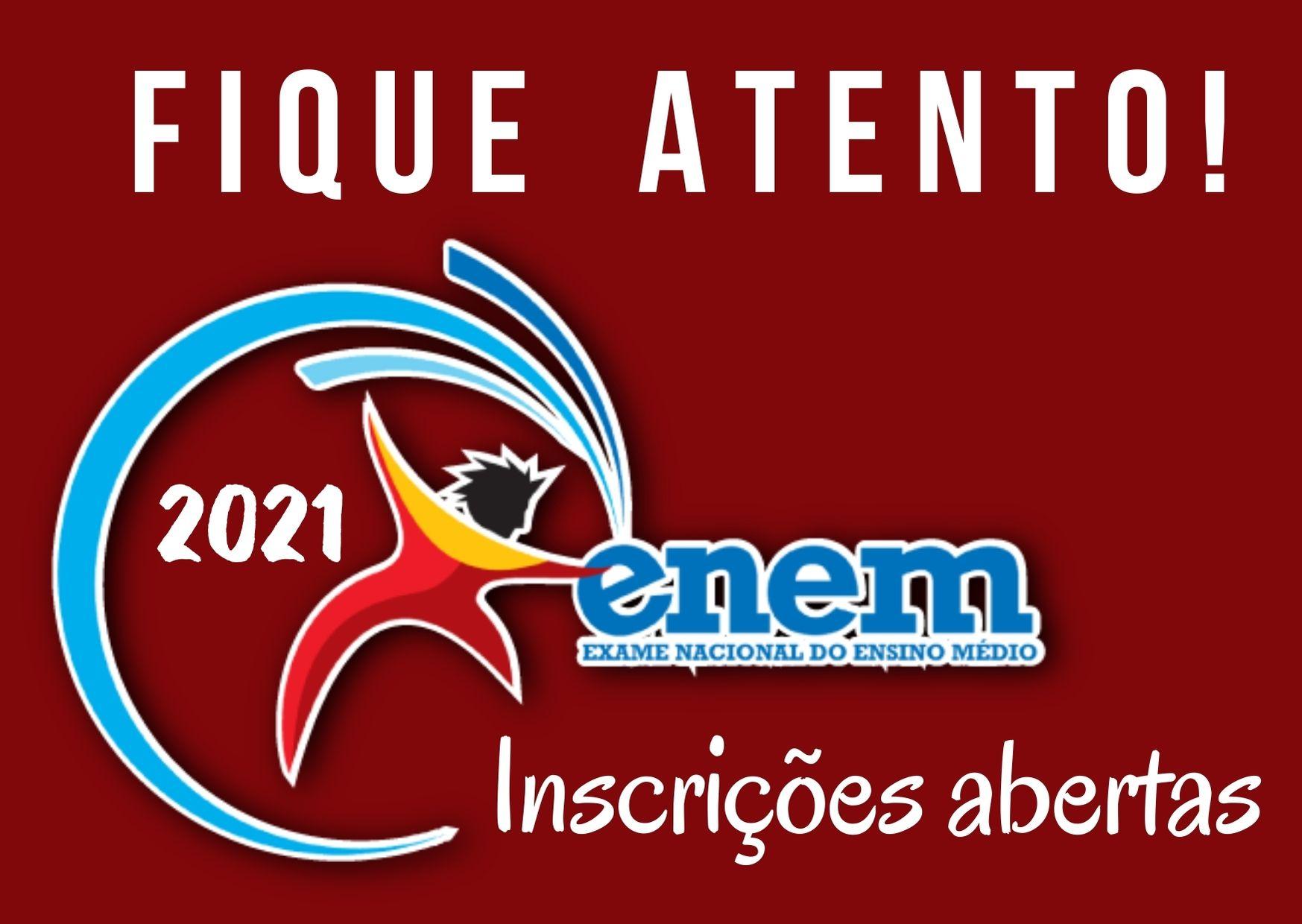Inscrições para ENEM 2021